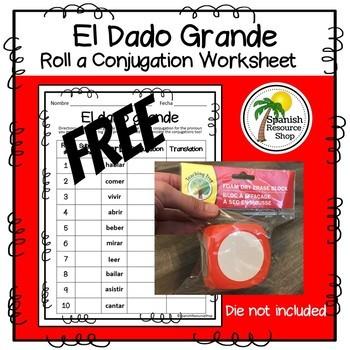 Spanish El Dado Grande_Subject Pronouns_Free Practice
