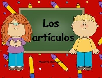 Spanish El Genero: Articulos Singulares