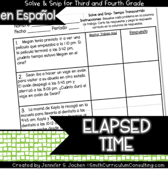 Spanish Elapsed Time Solve and Snip