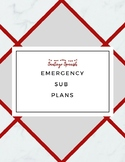 Spanish Emergency SUB Plan
