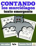 Spanish Emergent Reader: Bat Counting