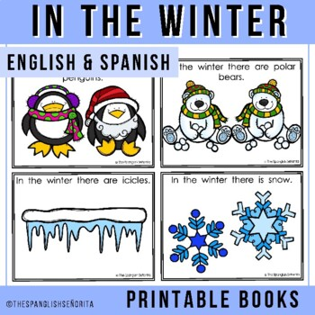 "Spanish Emergent Reader (December): ""En El Invierno"""