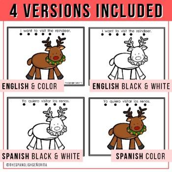 """Spanish Emergent Reader (December) - """"La Navidad"""""""
