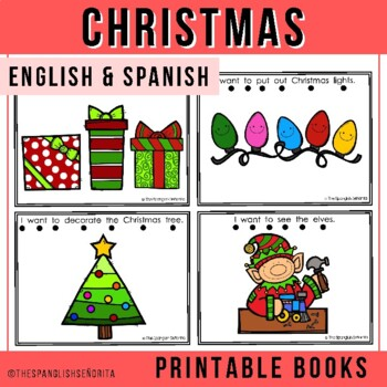 "Spanish Emergent Reader (December) - ""La Navidad"""