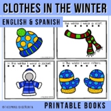 Bilingual Emergent Reader - Clothes in Winter (Spanish & English)