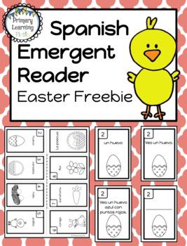 Spanish Emergent Reader - Easter - La pascua