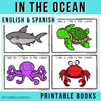 "Spanish Emergent Reader - ""En El Océano"" In The Ocean"