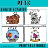 "Spanish Emergent Reader (February) - ""Las Mascotas"" Pets"