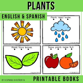 "Spanish Emergent Reader (January) - ""Las Plantas"""