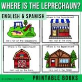 """Spanish Emergent Reader (March) - """"¿Dónde está el duende?"""" Leprechaun"""