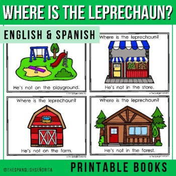 "Spanish Emergent Reader (March) - ""¿Dónde está el duende?"" Leprechaun"