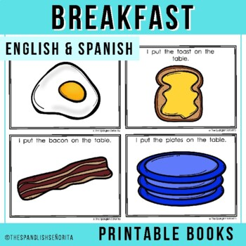 "Spanish Emergent Reader (May) - ""Desayuno"" Breakfast"