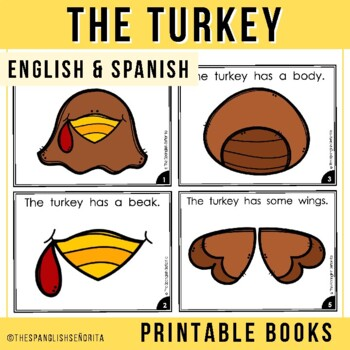 "Spanish Emergent Reader (November): ""El Pavo"""