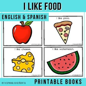 "Spanish Emergent Reader (November) - ""Me Gusta Comida"""