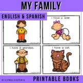 Bilingual Emergent Reader - My Family (English & Spanish)