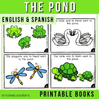 "Spanish Emergent Reader (Spring) - ""El Estanque"" The Pond"