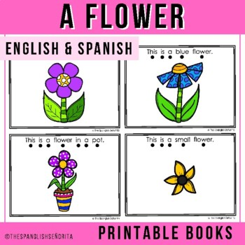 Spanish Emergent Reader (Spring) Una Flor - A Flower