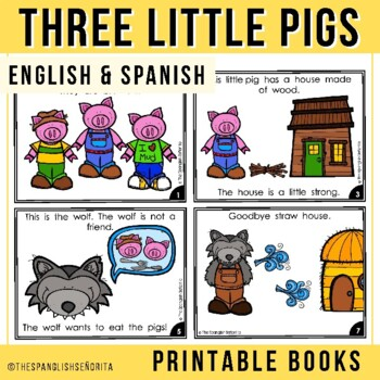 Spanish Emergent Readers - Tres Cerditos (Three Little Pigs)