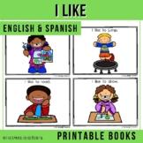"Spanish Emergent Readers - ""A Mí Me Gusta"" I Like"