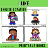Bilingual Emergent Readers - I Like (Spanish & English)