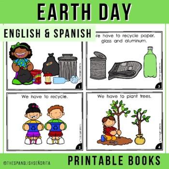 """Spanish Emergent Readers (April) - """"El Día de la Tierra"""" (Earth Day)"""