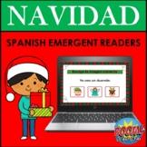 Spanish Emergent Readers BOOM CARDS: NAVIDAD (Spanish Christmas)