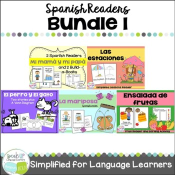 Spanish Emergent Readers {Bundled Set 1} en español
