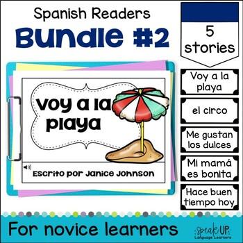 Spanish Emergent Readers {Bundled Set 2} en español