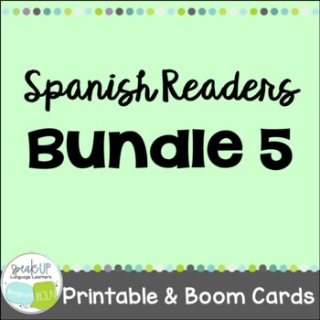 Spanish Emergent Readers {Bundled Set 5}