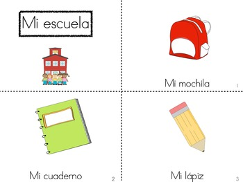 Spanish Guided Reading Books for Fall and Winter