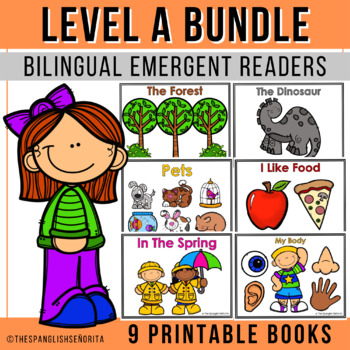 Spanish Emergent Readers - Level A BUNDLE