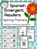 Spanish Emergent Readers - Spring Themed