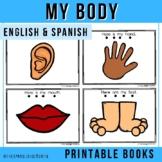 "Spanish Emergent Readers - The Body ""El Cuerpo"""