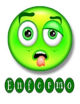 Spanish Emotion Cards (Large)