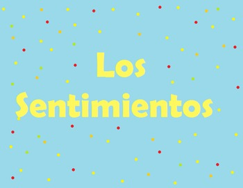 Spanish Emotion Words Drawing Activity