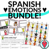 Spanish Emotions Activities Bundle