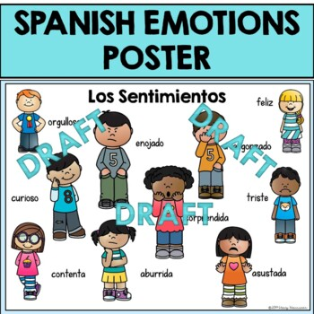 Spanish Emotions Poster