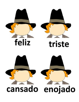 Spanish Emotions Practice with Pilgrims