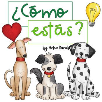 """Spanish """"Emociones"""" Comic Booklet"""