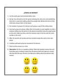 Spanish Emotions Vocabulary Writing Activity (Estar Practice)