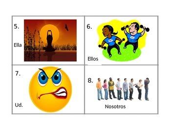 Spanish Emotions Vocabulary Writing Activity (Estar Practice)