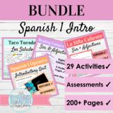Spanish Empecemos Ser and Introduction Unit Bundle