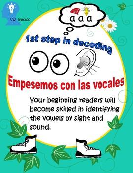 Spanish Empesemos con las vocales
