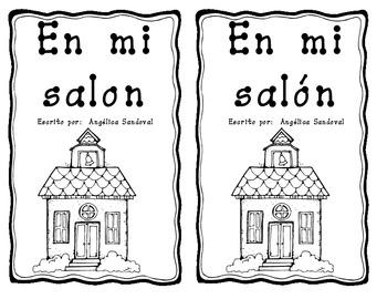 Spanish En mi salon book