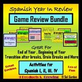 Spanish Game Review Bundle