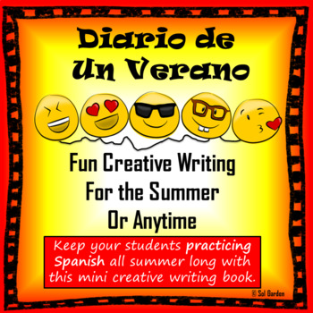 Spanish Creative Writing Assignment - Creative Prompt Book