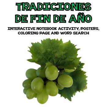 Spanish End of Year Traditions / Tradiciones de Fin de Año Interactive Notebook