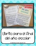 Spanish End of the School Year flipbook