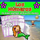 Spanish End of the year Activities : Counting in Spanish - Numbers 1-20