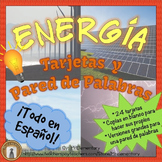 Spanish Energy Vocabulary